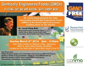 Dr. Lorrin Pang Speaks on GMO